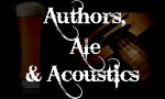 Authors, Ale & Acoustics